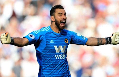 =9. Rui Patricio (Wolverhampton) - Số trận giữ sạch lưới: 8/29.