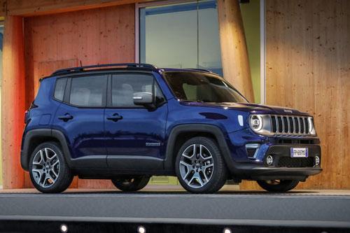 6. Jeep Renegade (doanh số: 7.407 chiếc).