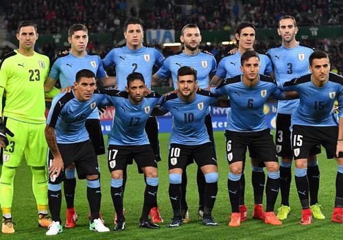 5. Uruguay - Điểm số: 1.645.