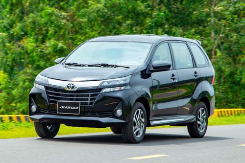 7. Toyota Avanza (doanh số: 24 chiếc).