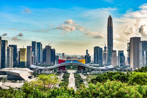 7.Thâm Quyến (Trung Quốc) - 44 tỷ phú (tổng tài sản: 220,2 tỷ USD). Ảnh: Spiderum.