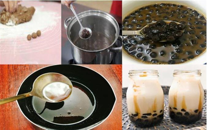 Cách làm trà sữa trân châu tại nhà đơn giản ngon như ngoài hàng - 4