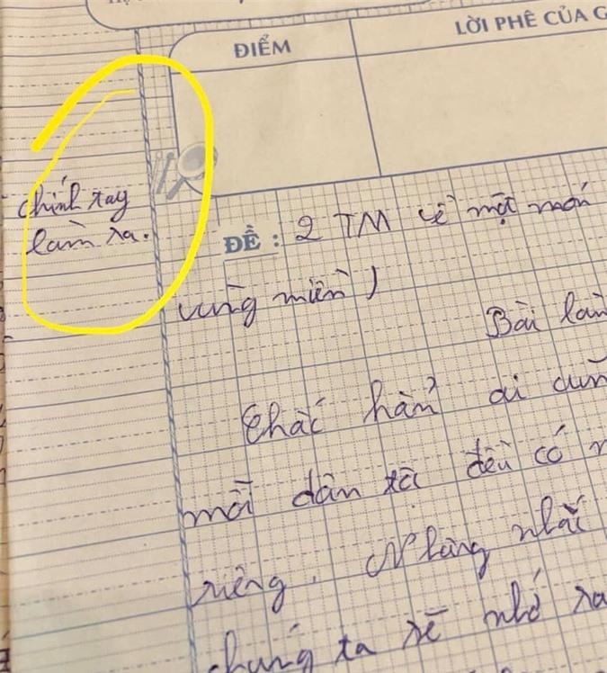 Cô dặn làm văn không được chép lại bài tham khảo, học sinh liền nhắn với cô một câu mà gây bão mạng xã hội - Ảnh 1.