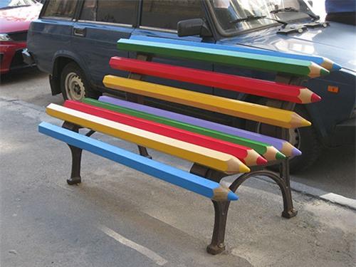 Sốc những băng ghế dài kỳ quái nhất thế giới - 10