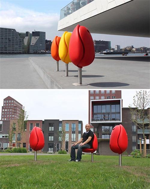 Sốc những băng ghế dài kỳ quái nhất thế giới - 14