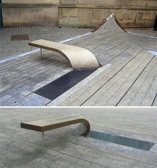 Sốc những băng ghế dài kỳ quái nhất thế giới - 5