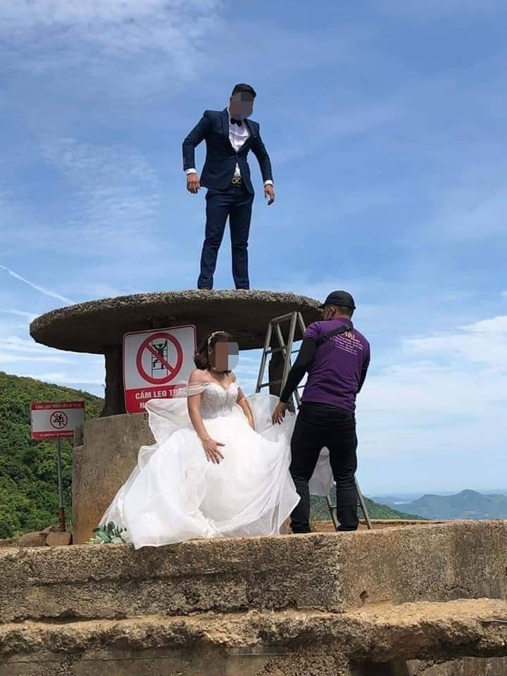 Hành động của cặp đôi bị chỉ trích dữ dội.