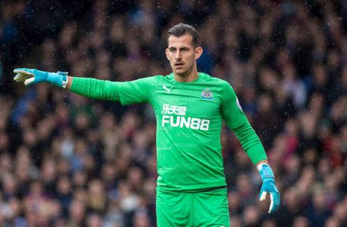 =6. Martin Dubravka (Newcastle United) - Số trận giữ sạch lưới: 9/29.