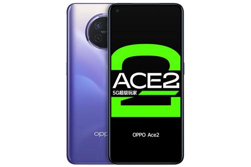 Oppo Ace2 sở hữu thiết kế với khung viền bằng nhôm, 2 bề mặt phủ kính cường lực Corning Gorilla Glass 5. Máy có số đo 160x75,4x8,6 mm, cân nặng 186 g.