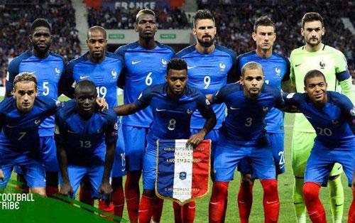 2. Pháp - Điểm số: 1.733.