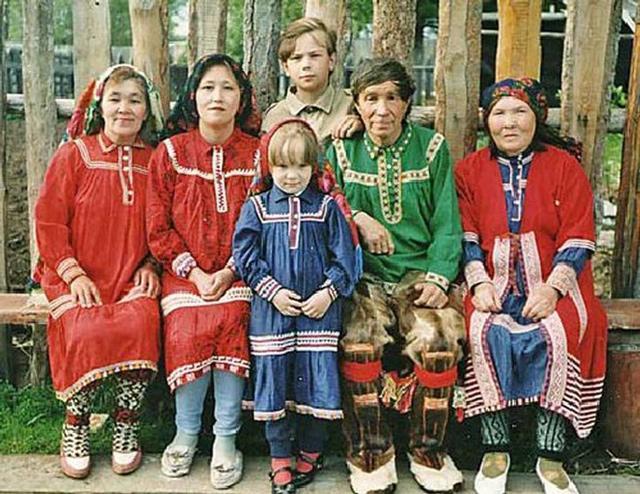 Người Orochi ở vùng Siberi, nước Nga.