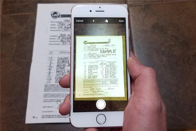 Cách biến smartphone thành máy scan tài liệu khi làm việc tại nhà