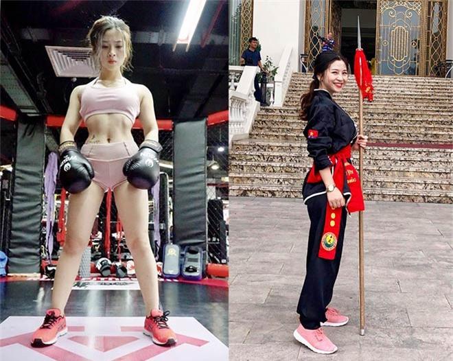 Hot girl Việt múa côn như Lý Tiểu Long: Thân hình nóng bỏng vạn người mê - 4