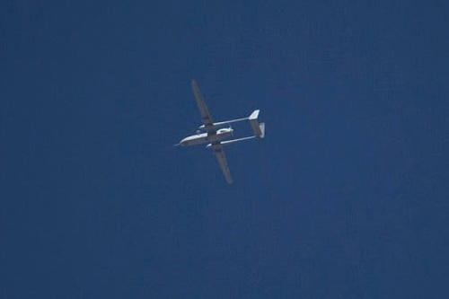 Máy bay không người lái Israel dễ dàng xâm nhập không phận Syria để tấn công. Ảnh: Avia-pro.