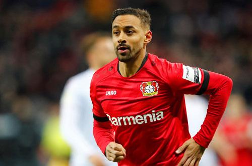 4. Karim Bellarabi (Bayer Leverkusen) - 35,27km/h.