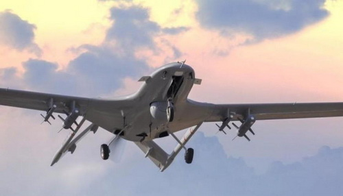 Máy bay không người lái Bayraktar TB2. Ảnh: Jane's Defense Weekly.