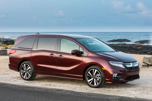 8. Honda Odyssey 2020 (giá khởi điểm: 31.910 USD).