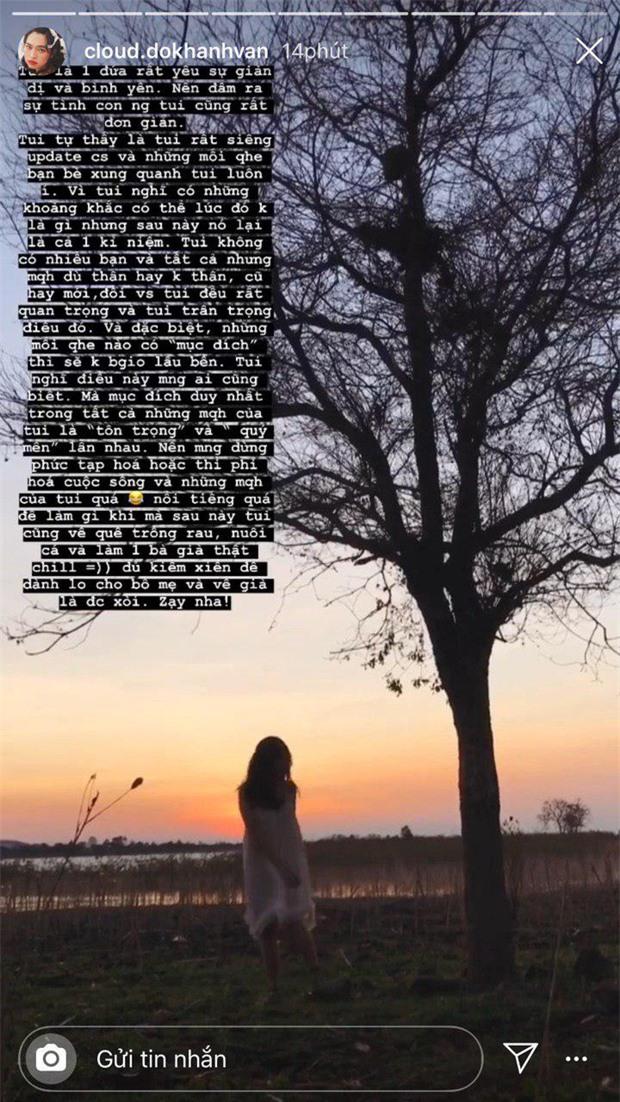 Sau ồn ào nữ chính Khánh Vân bị chỉ trích, Jack bất ngờ nhắn kín fan: Đừng biến mình thành công cụ để người khác khai thác? - Ảnh 2.
