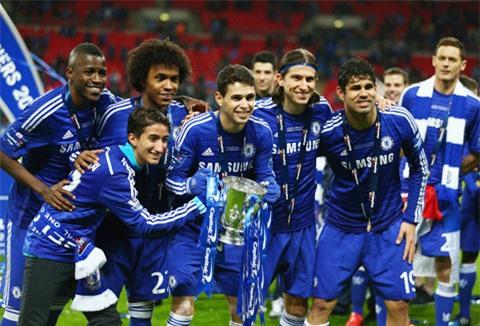 Có thời, Chelsea sở hữu tới 5 trụ cột là người Brazil