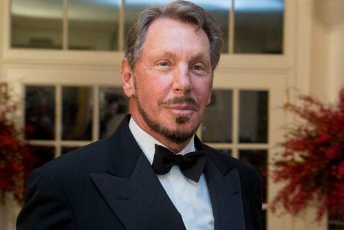 3. Larry Ellison. Đồng sáng lập kiêm Giám đốc điều hành tập đoàn phần mềm Oracle (tổng tài sản: 59 tỷ USD)