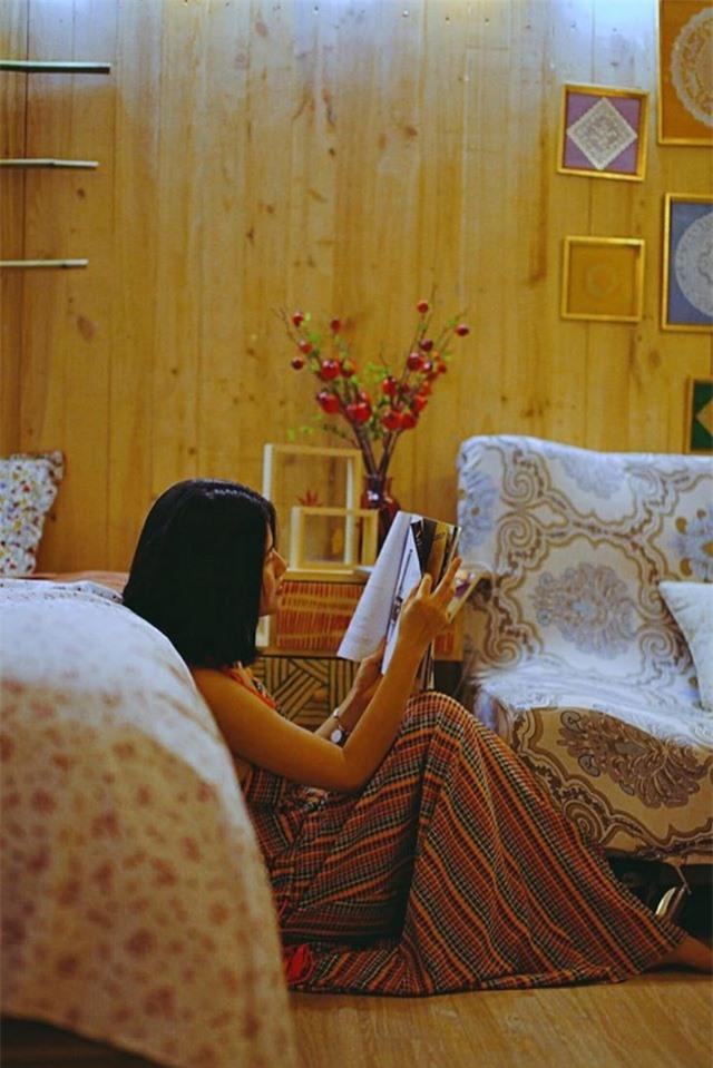 Cô gái 9x Hà Nội biến tầng thượng thành không gian nghỉ dưỡng cực đẹp - 8
