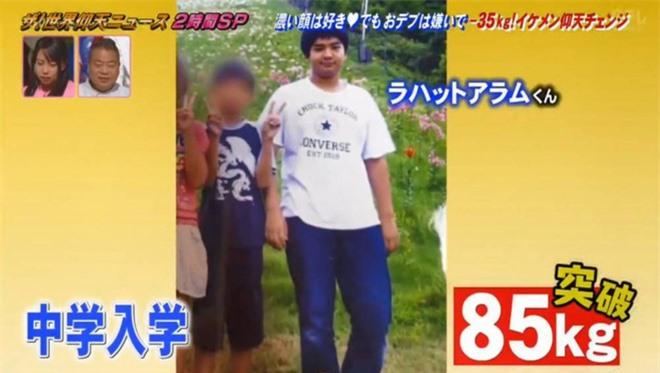 Từ 105kg xuống 70kg, chàng béo Nhật Bản chia sẻ bí quyết giảm cân sau lời từ chối phũ phàng của crush - Ảnh 3.