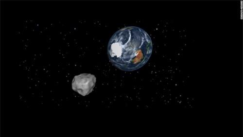 Hình ảnh về một tiểu hành tinh gần Trái đất