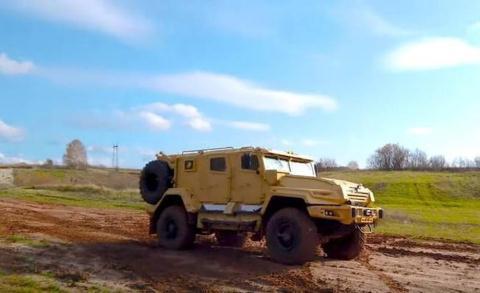 Xe bọc thép thế hệ mới VPK-Ural.
