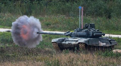Tăng T-90 của Nga.