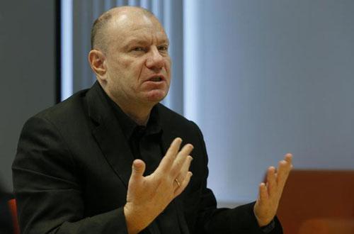 1. Vladimir Potanin - 19,7 tỷ USD: Phần lớn tài sản của người giàu nhất nước Nga đến từ 35% cổ phần tại Nornickel, một tập đoàn lớn chuyên về khai thác và luyện kim. Ảnh: Reuters.