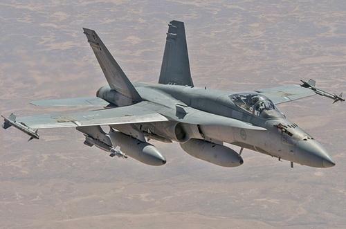 Tiêm kích F/A-18A/B Hornet của Không quân Hoàng gia Australia. Ảnh: Wikipedia.