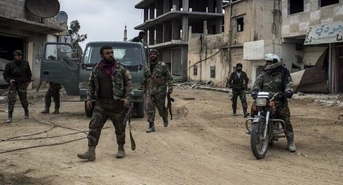 Hai sĩ quan cao cấp của Quân đội chính phủ Syria đã thiệt mạng sau vụ tấn công khủng bố tại tỉnh Daraa. Ảnh: Al Masdar News.