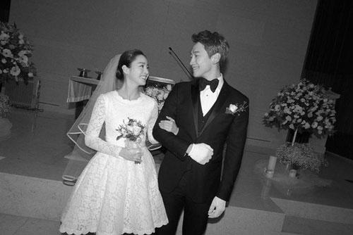 Vợ chồng Bi Rain và Kim Tae Hee có đời sống kín tiếng sau khi kết hôn.