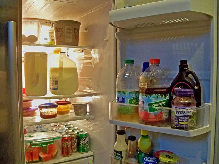 Không mở tủ lạnh nhiều