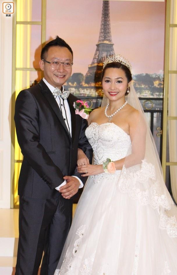 Trần Chiêu Chiêu và chồng cũ Lý Chí Hào.