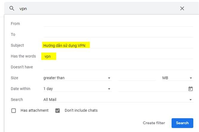 Cách tìm kiếm email Gmail siêu nhanh - ảnh 9