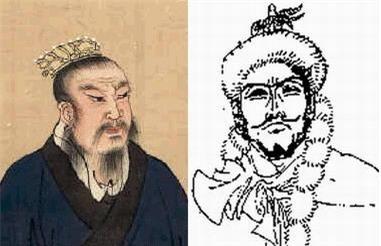 """Cần phải nhấn mạnh rằng: Hàn vương Tín là vua nước Hàn. Mặc dù cùng phụng sự Lưu Bang, nhưng ông không phải là """"chiến thần"""" Hàn Tín. (Tranh vẽ chân dung Hàn Vương Tín: nguồn internet)."""
