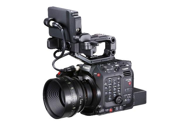 EOS C300 Mark III with CN-E85mm