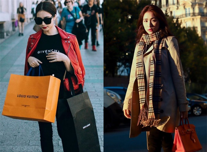 Mỗi lần du lịch nước ngoài, Hoà Minzy đều mạnh tay mua sắm hàng hiệu
