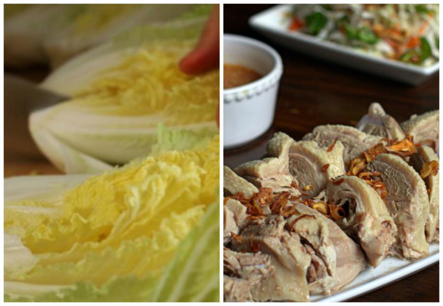 Thịt vịt cải thảo tốt cho sức khỏe