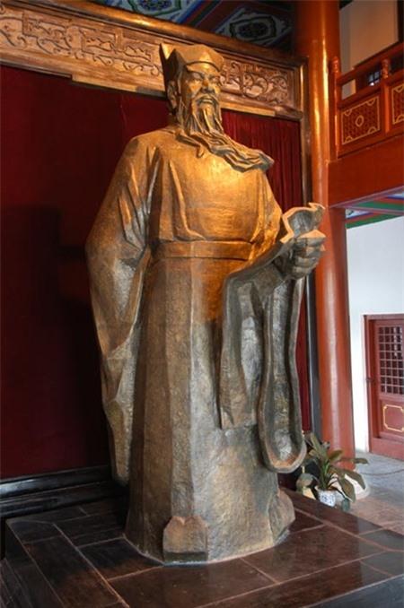 Tượng đồng ngài Bao Chửng