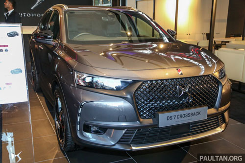 DS 7 Crossback 2020.