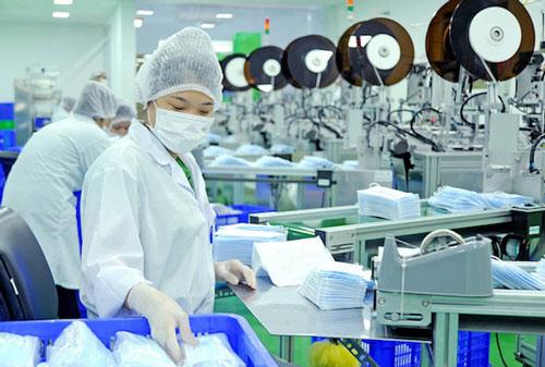 Danameco đầu tư thêm 6 dây chuyền sản xuất khẩu trang y tế  (Ảnh: Internet)