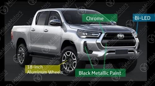 2021 Toyota Hilux facelift
