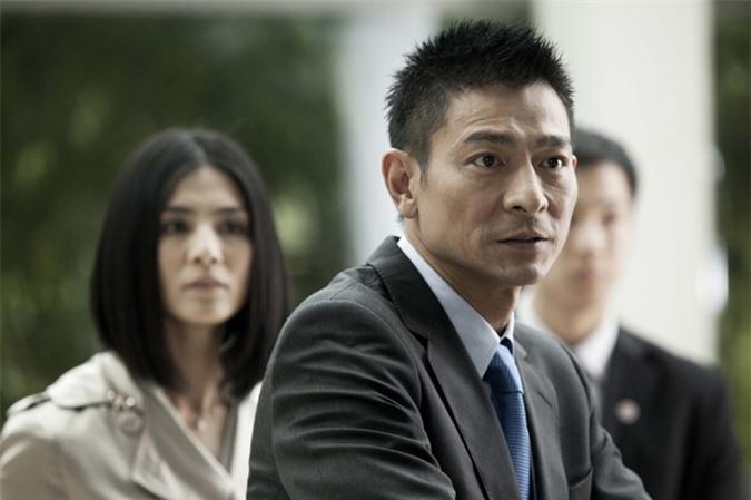 Diễn viên - ca sĩ Lưu Đức Hoa. Ảnh:Sina