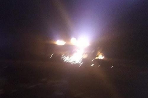 Hình ảnh được Thổ Nhĩ Kỳ cho là tổ hợp phòng không Pantsir-S1 đã bị UAV Bayraktar TB2 phá hủy. Ảnh: Avia-pro.