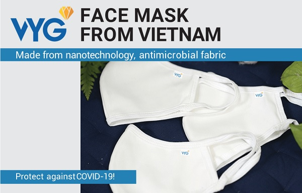 VYG face masks have arrived in Germany and Europe.