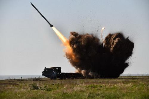 Bắn thử nghiệm tổ hợp tên lửa (MLRS) Alder của Ukraine. Ảnh: Topwar.