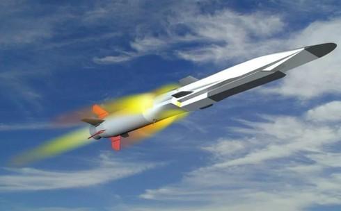 Mô hình tên lửa hành trình diệt hạm siêu thanh 3M22 Zircon. (Ảnh minh họa).