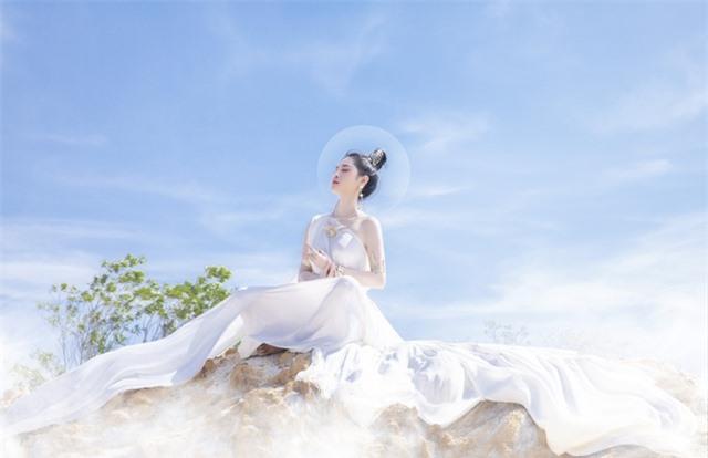 Người đẹp Triệu Hà Vy đẹp thoát tục trong bộ ảnh hóa thân nữ thần - 10